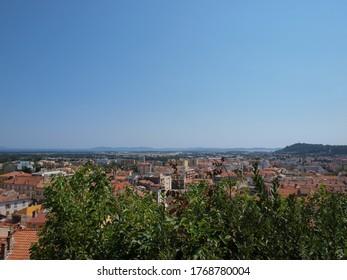 Panoramic view of Avignon, France
