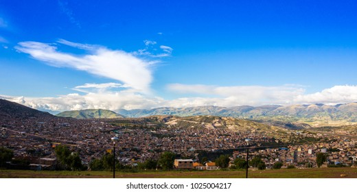 Panoramic view of Ayacucho - Peru