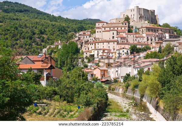 panoramic-view-brienza-basilicata-italy-