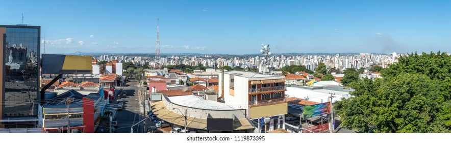 Panoramic view of Campinas, SP/ Brazil on a sunny day