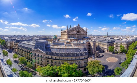 panoramic view at central paris, france - Shutterstock ID 1777546634