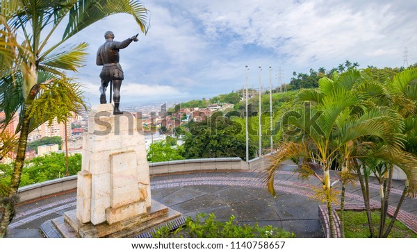 Panoramic View City Cali Colombia Stock Photo (Edit Now