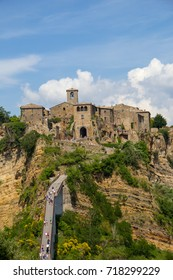 Panoramic view of Civita di Bagnoregio, Lazio