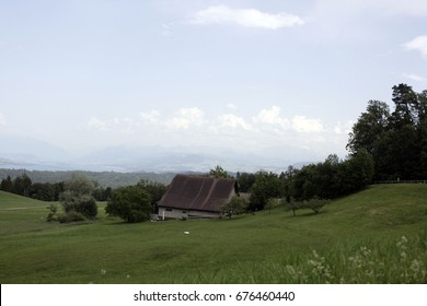 Panoramic view of the countryside