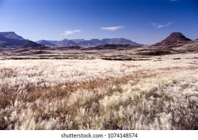panoramic view of the damaraland region