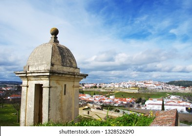 Panoramic view of Elvas, Alentejo region, Portugal
