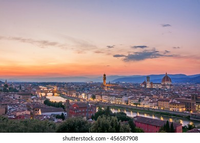 Panoramic view of Florence - Italy