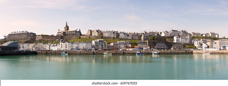 Panoramic view of Granville - Manche (France)
