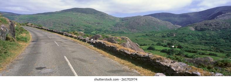 Panoramic view of Healy Pass, Cork, Ireland