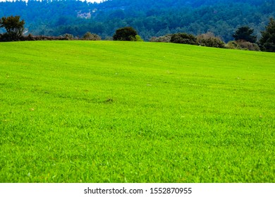 Panoramic view of idyllic mountain scenery