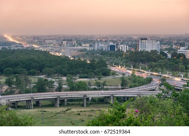 Panoramic view of Islamabad Pakistan