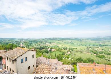 Panoramic view of Italian Landscape
