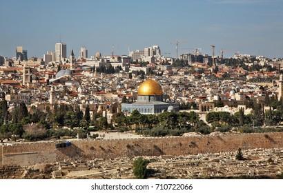 Panoramic view of Jerusalem. Israel