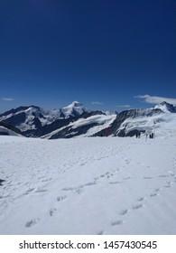 A panoramic view of Jungfraujoch, Switzerland