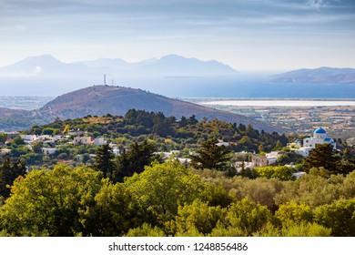 Panoramic view of Kos Island, Greece