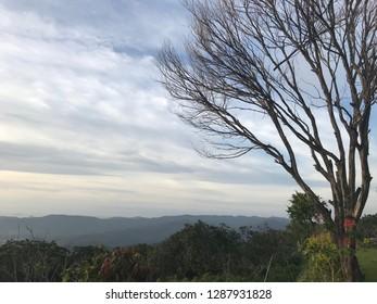 Panoramic view of Labuan Bajo Hills, Indonesia