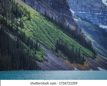 Panoramic view of the Lake Louise