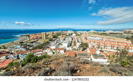 Panoramic view of Los Cristianos