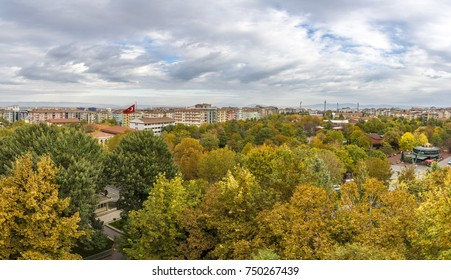 Panoramic view of Malatya City in Turkey