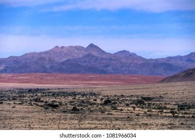panoramic view of the namib naukluft park, Hardap, Namibia, Africa