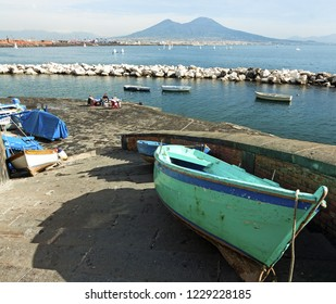 Panoramic view of Naples  - Italy