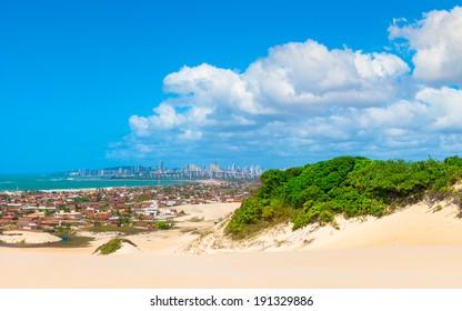Panoramic view of Natal, Brazil