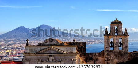 Panoramic view on the