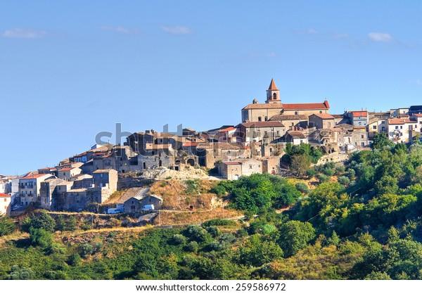 panoramic-view-oppido-lucano-basilicata-