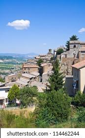 Panoramic view of Orvieto. Umbria. Italy.