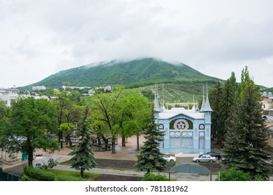 Panoramic view of Pyatigorsk, resort town in Stavropol Krai, Russia