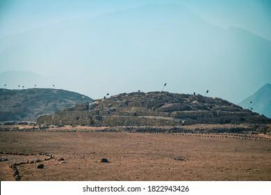 vistas panorámicas a la pirámide