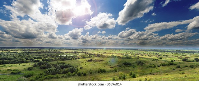 Temperate zone images stock photos vectors shutterstock panoramic view of river valley in temperate zone countryside view in summer altavistaventures Choice Image