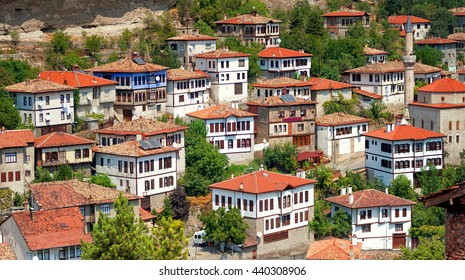 Panoramic view of Safranbolu, turkish town famous for its traditional ottoman architecture, Turkey