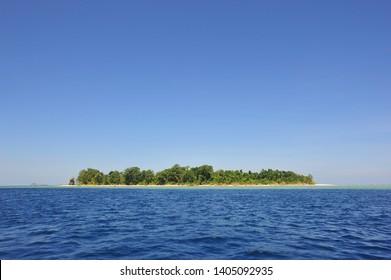 Panoramic view of Sipadan Island f