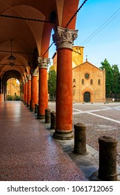 Panoramic view of St. Stefano - Bologna, Italy