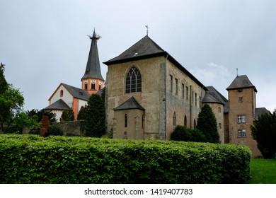 Panoramic view of the Steinfeld Abbey, Germany