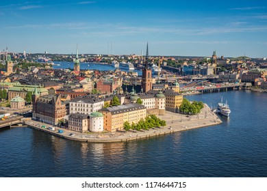 Panoramic view of Stockholm Sweden