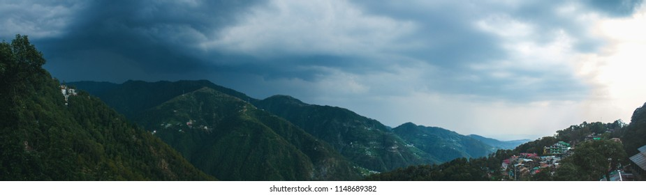 Panoramic view from Subhash Chowk, Dalhousie, Himachal Pradesh