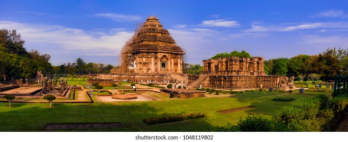 Panoramic view of The Sun Temple Konark