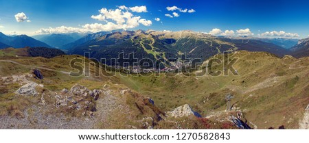 Panoramic view of theMountains