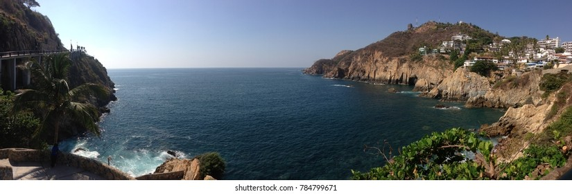 panoramic view of traditional Acapulco, Mexico