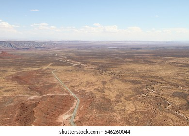panoramic view of the Valley of the Gods