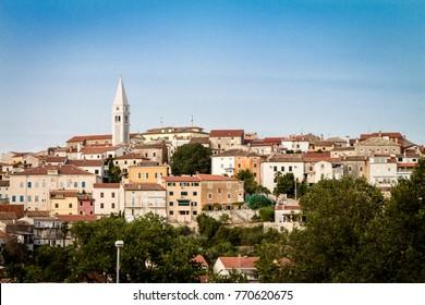 Panoramic View of Vrsar, Croatia
