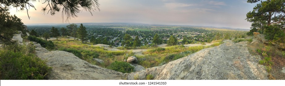 Panoramic views from Zimmerman Park in Billings, Montana (July 2018)