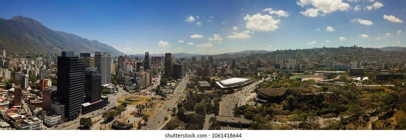 panoramica caracas venezuela