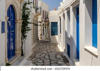 Panormos village in Tinos island