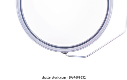 Pant can isolated on a white background