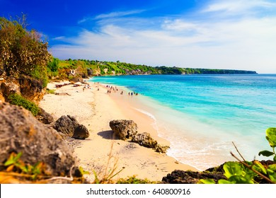 Pantai Dreamland Beach South Kuta / Tropical beach island Bali / Indonesia, Bali