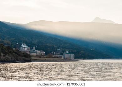 Panteleimonov monastery Athos