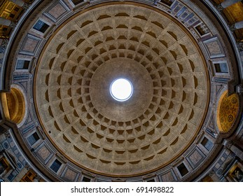 Pantheon Ceiling in Rome